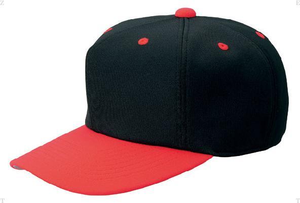 ZETT ゼット オールニットベースボールキャップ 六方 BH121 野球 ベースボール カラー M ブラック×レッド ブラック 55~56cm 最新号掲載アイテム 割り引き サイズ 1964 オールニットキャップ