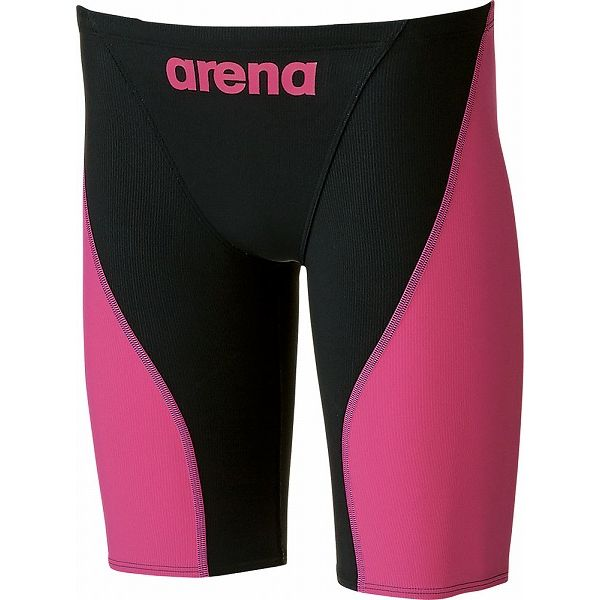 ARENA(アリーナ) AQUAFORCE FUSION-2 ハーフスパッツ ARN7011M 【カラー】ブラック×ピンク