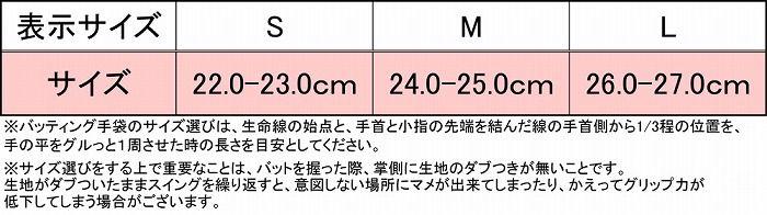 ZETT(ゼット) バッティンググラブ プロステイタス(両手用) BG318 ブラック×レッド L(26-27 cm )