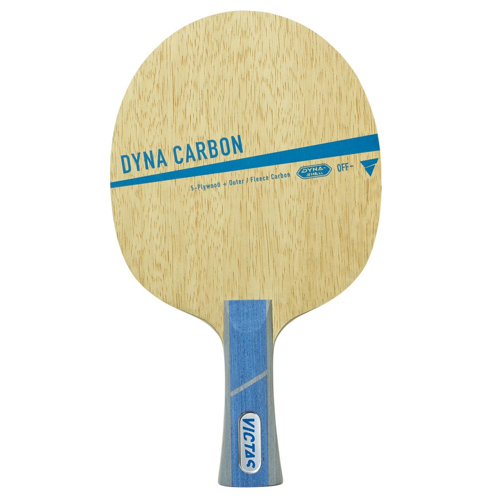 VICTAS シェークラケット DYNA CARBON FL ダイナカーボン フレア 029204 卓球【送料無料】