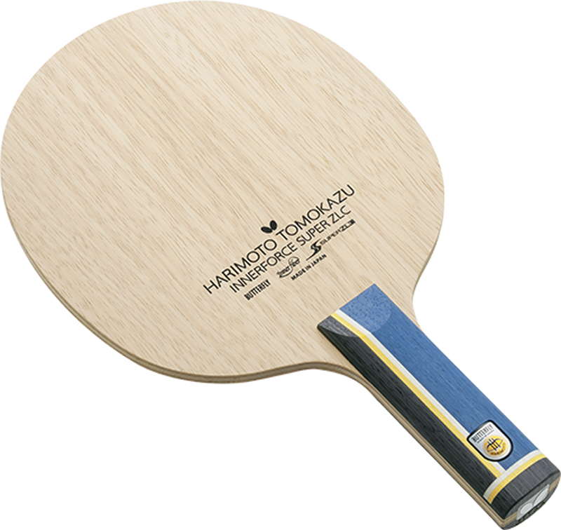 Butterfly シェークラケット HARIMOTO TOMOKAZU INNERFORCE SUPER ZLC ST 張本智和 インナーフォース スーパーZLC ストレート 37024 卓球【送料無料】