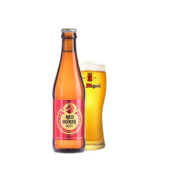 レッドホース 瓶 330ml×24本入り【ケース売り】 発泡酒 香港【送料無料】