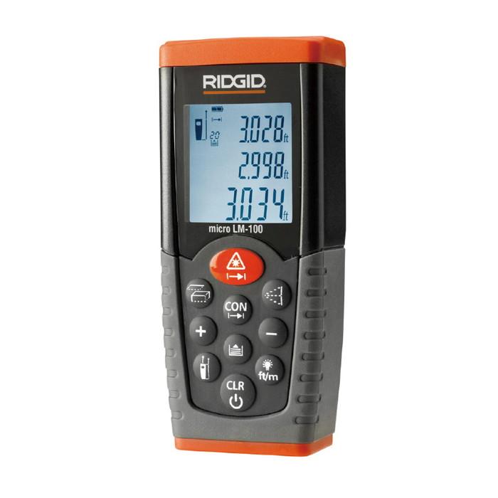 RIDGID(リジッド) 36158 MICRO LM-100 レーザー距離計(代引不可)【送料無料】【S1】