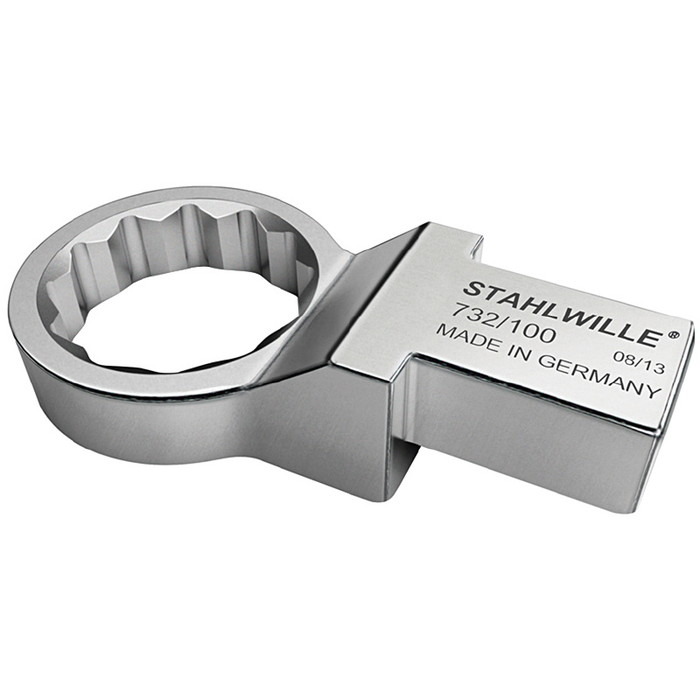 STAHLWILLE(スタビレー) 732/100-34 トルクレンチ差替ヘッド メガネ(58221034)(代引不可)【送料無料】