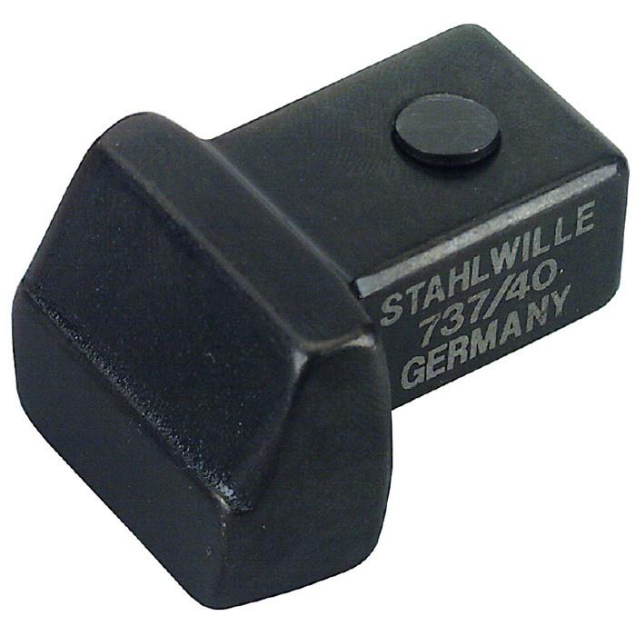 STAHLWILLE(スタビレー) 737/100 トルクレンチ差替ヘッド(ブランク) (58270100)(代引不可)【送料無料】【S1】