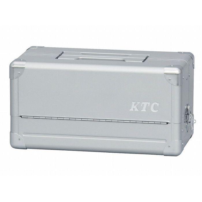 KTC 京都機械工具 EK-1A 両開きメタルケース(シルバー)(代引不可)【送料無料】【S1】
