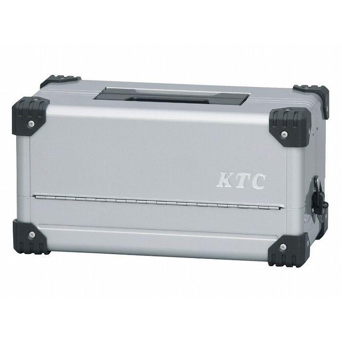 KTC 京都機械工具 EK-10A 両開きメタルケース(シルバー)(代引不可)【送料無料】