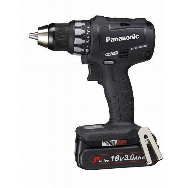 パナソニック EZ74A2PN2G-B 18V 3.0Ah 充電ドリルドライバー 黒(代引不可)【送料無料】