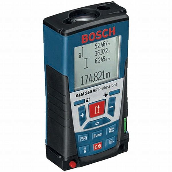 BOSCH ボッシュ GLM250VF レーザー距離計(代引不可)【送料無料】【S1】
