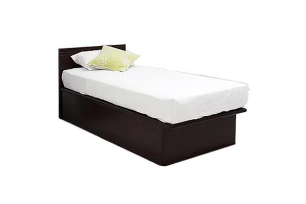 ベッド セミダブル フレーム 深型 縦開き 宮 跳ね上げ 収納ベッド K-NEVIS Kネイビス フレームのみ セミダブル(代引不可)【送料無料】