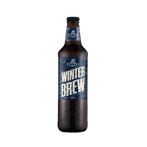 フラーズ ウィンターブリュー 500ml/瓶 (Fuller's Vintage Ale) ウィンターエール ビール イギリス 【1ケース販売:12本入り】【送料無料】