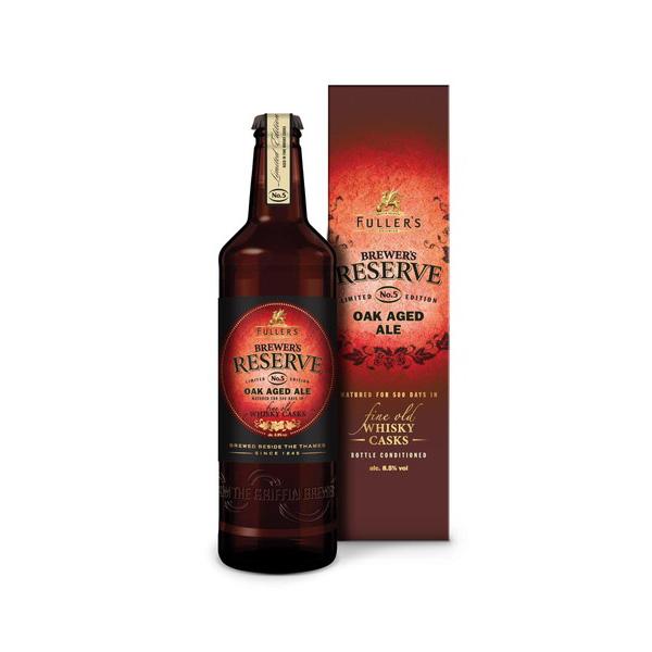 フラーズ ブリュワーズ リザーブNo.5 500ml/瓶 イングリッシュストロング ビール イギリス 【1ケース販売:12本入り】【送料無料】