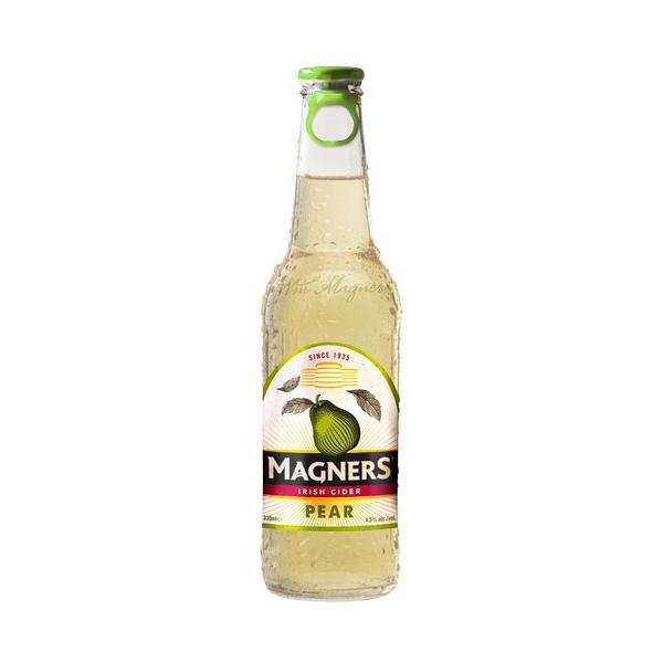マグナーズ ペアーサイダー 330ml/瓶 (Magners Pear Cider) サイダー 甘味果実酒 アイルランド 【1ケース販売:24本入り】【送料無料】