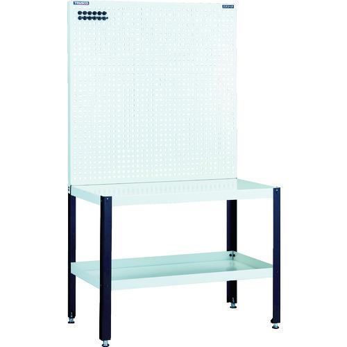 TRUSCO トラスコ ライトパンチングパネル パネリーナ W900 テーブル付 TUR33 8000(代引不可)【送料無料】【S1】