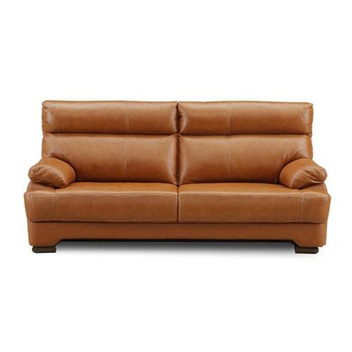 ソファ sofa 3P 3人掛け 3人用 リビング 革張り 応接 開梱設置無料 おしゃれ 完成品(代引不可)【送料無料】【S1】