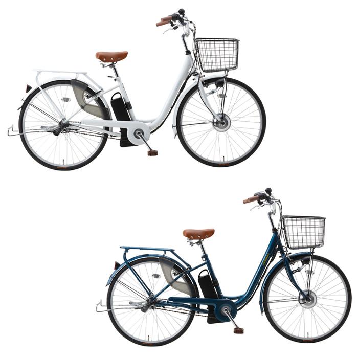 スイスイ 電動アシスト自転車 26インチ 3段ギア BM-P10 2色 ホワイト ネイビー ロック・ライト付(代引不可)【送料無料】