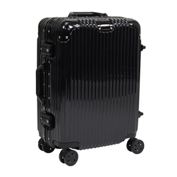 スーツケース ブラック シルバー ネイビー レッド スーツケース Sサイズ アルミフレーム キャリーケース 軽量 TSAロック 35L(代引不可)【送料無料】