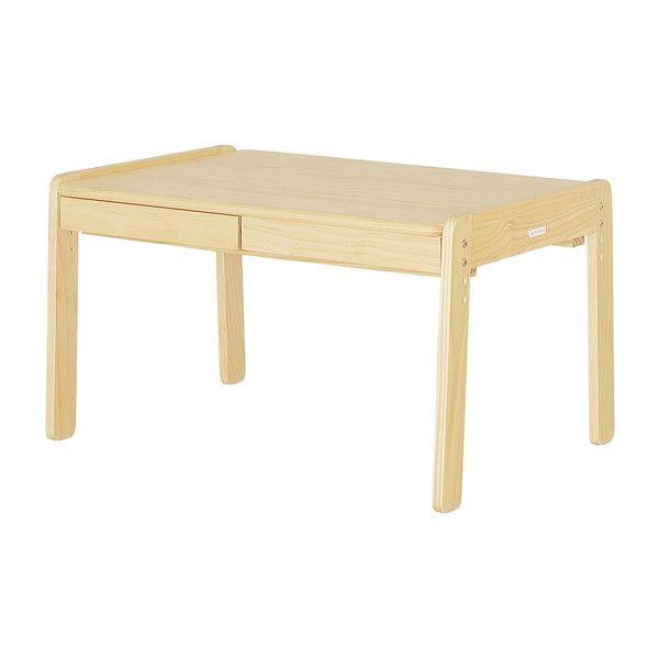 木製 キッズテーブル 高さ3段階可動式 アクティーボ ラージデスク 天板高さ 3段階調整可能 子供 テーブル 机(代引不可)【送料無料】