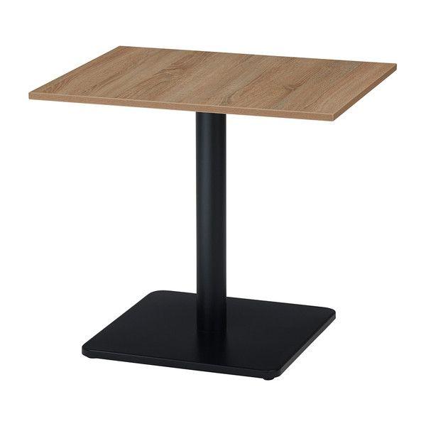 古木柄 カフェテーブル 6075 角型 65×75cm RGカフェテーブル テーブル 机 カフェ(代引不可)【送料無料】