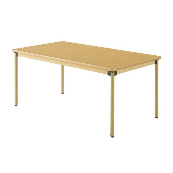 テーブル 160×90cm オールラウンドテーブル 福祉介護用 机 テーブル(代引不可)【送料無料】