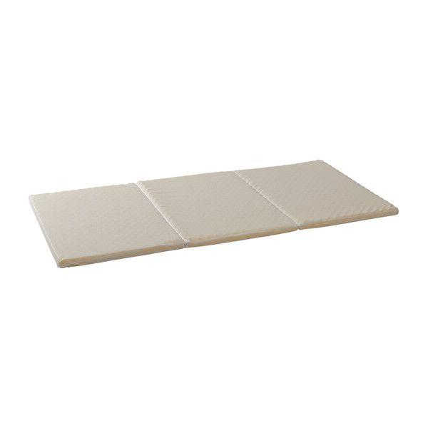 三つ折り プロファイルマットレス シングル 凹凸マットレス 3つ折りタイプ マットレス(代引不可)【送料無料】