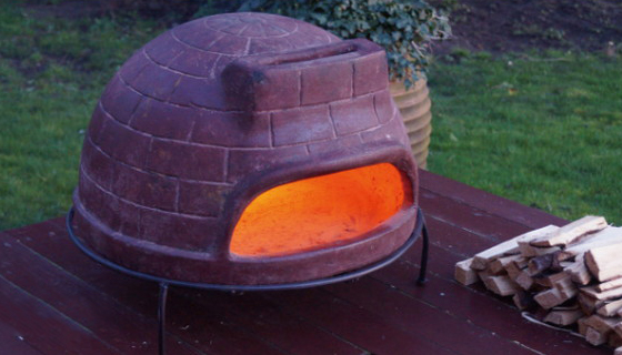 ピザ窯 チムニー メキシコ製 MCH060 チムニー ガーデンストーブ BBQ ホームパーティー 窯 ピザ焼き【送料無料】