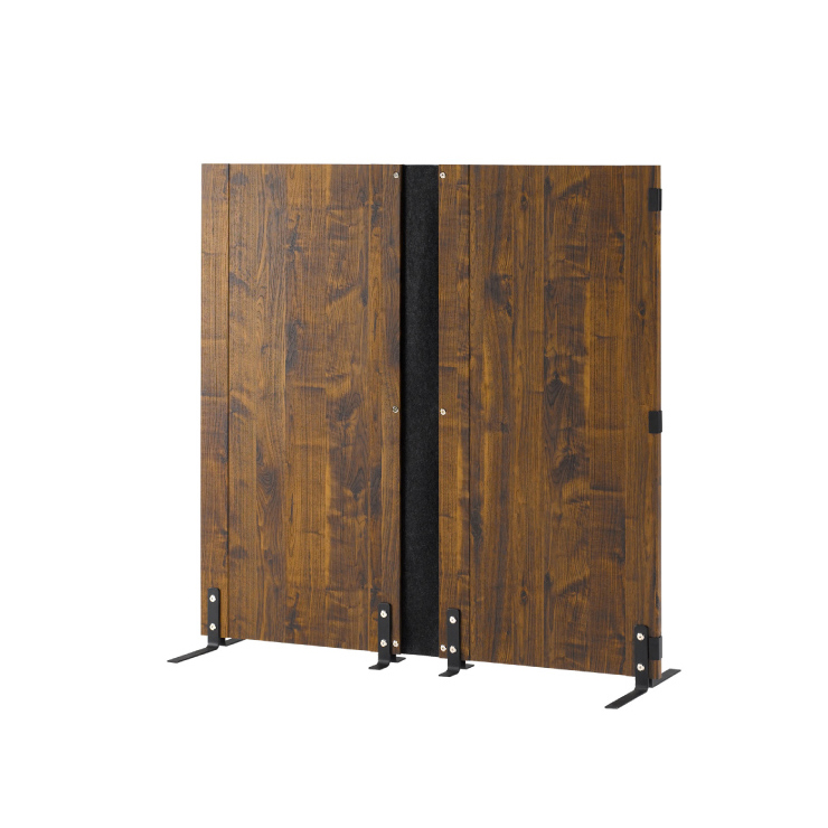 木製パーティション 高さ120 パーテーション 間仕切り インテリア 折り畳み 壁 衝立 仕切り スクリーン(代引不可)【送料無料】