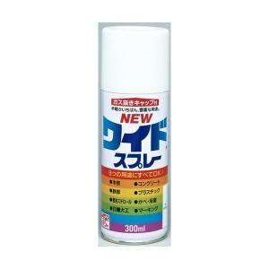 ニッペ ホームペイント ニューワイドスプレー 300ml 12本入 01・ホワイト【S1】
