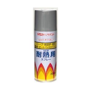 ニッペ ホームペイント 耐熱用スプレー 300ml 12本入 黒・310102【送料無料】【S1】