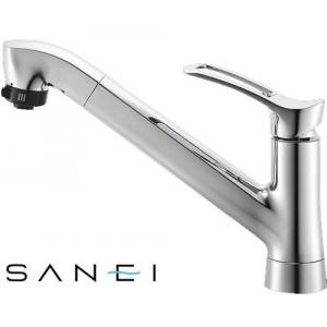 三栄水栓 SANEI シングルワンホールスプレー混合栓 寒冷地用 K87120TJK【送料無料】
