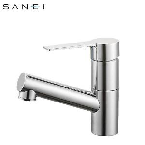 三栄水栓 SANEI シングルワンホール洗面混合栓 寒冷地 K475NJK-1-13【送料無料】