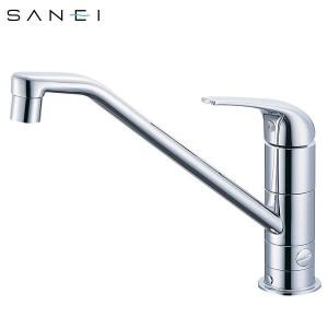 三栄水栓 SANEI シングルワンホール分岐混合栓 K87010BTJV-13C【送料無料】