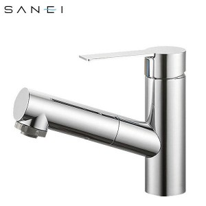 三栄水栓 SANEI シングルスプレー混合栓(洗髪用) K37531JV-13【送料無料】
