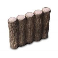 クヌギの木を思わせる、自然な風合いのコンクリート製擬木。 NXstyle 花壇材 擬木 五連250 ×10個 9900261(代引き不可)