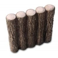 【送料無料】クヌギの木を思わせる、自然な風合いのコンクリート製擬木。 NXstyle 花壇材 擬木 五連300 ×10個 9900262(代引き不可)【送料無料】