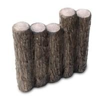 NXstyle 花壇材 擬木 段違五連300 ×10個 9900265(代引き不可)
