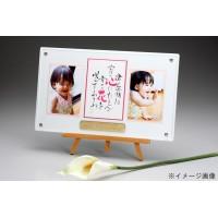 ベビーメモリアル・出産祝い ピュアホワイト(ネーム&ポエム) 写真立て 517 お仕立券タイプ(代引き不可)