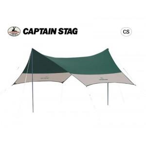 CAPTAIN STAG CS ヘキサタープUV(サイドポール2本付) M-3151(代引き不可)【送料無料】