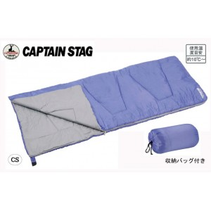 CAPTAIN STAG 洗えるシュラフ1000(パープル) UB-0006(代引き不可)【送料無料】