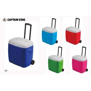 CAPTAIN STAG リガード ホイールクーラー28L ブルー・M-5281(代引き不可)【送料無料】