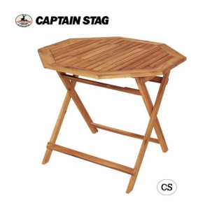CAPTAIN STAG CSクラシックス FD8角コンロテーブル(90) UP-1018(代引き不可)