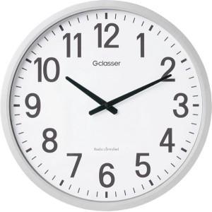 キングジム 電波掛時計 ザラージ GDK-001
