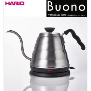 HARIO(ハリオ) Buono V60 細口パワーケトル・ヴォーノ EVKB-80HSV【送料無料】