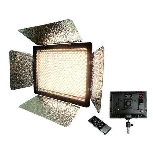 【送料無料】小型ながら本格的な照明が行える高出力54WのLEDライト「VLP-10500XP」です。 LPL LEDライトプロ(色温度調整可能タイプ) VLP-10500XP L26997(代引不可)【送料無料】【S1】