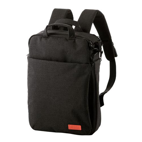 エレコム off toco 3WAY PCバックパック ブラック BM-OF01BK BM-OF01BK 雑貨 ホビー インテリア(代引不可)【送料無料】【S1】