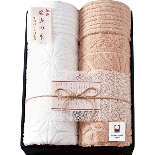 極選 魔法の糸今治製パイル綿毛布2P B2028548【送料無料】
