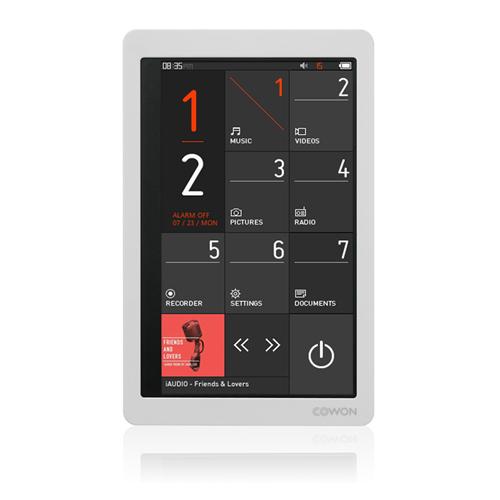 COWON MP3 プレーヤー ホワイト 32GB X9-32G-WH【送料無料】