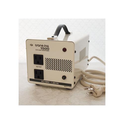 スワロー電機 受注生産のため納期約2週間ダウントランス 120V→100V / 1500W PAL-1500AP