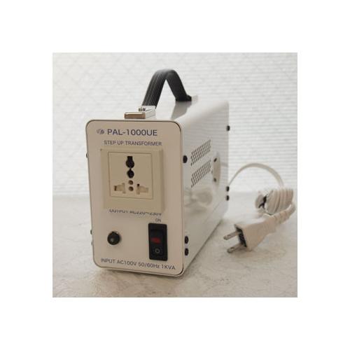 スワロー電機 受注生産のため納期約2週間アップトランス 100V→220・230V 1000W PAL-1000UE
