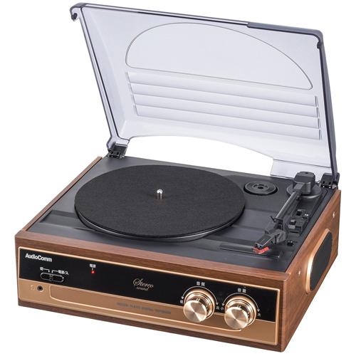 オーム電機 レコードプレーヤーシステム RDP-B200N 家電 オーディオ関連 オーム電機【送料無料】